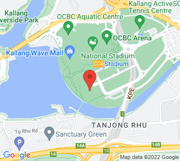 Map showing Singapore Indoor Stadium
