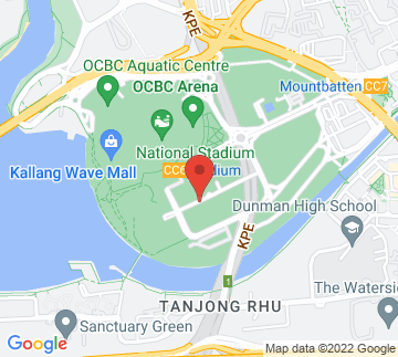 Map showing Singapore Sports Museum