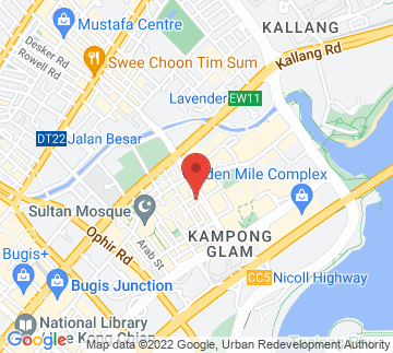 Map showing Sultan Jazz Club