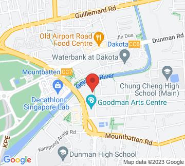 Map showing Goodman Arts Centre - Black Box