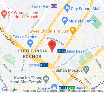 Map showing Roots Kitchen Bar