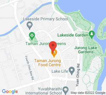 Map showing Our Museum @ Taman Jurong