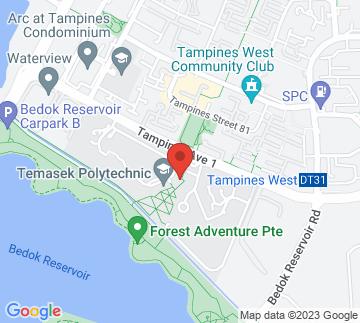 Map showing Temasek Polytechnic - School Of Engineering