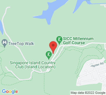 Map showing Singapore Island Country Club
