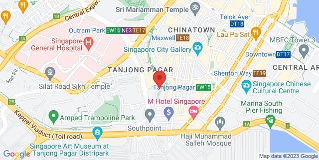 Map showing Yan Kit Road