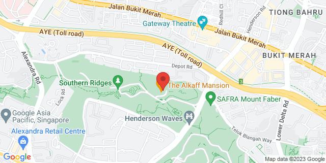 Map showing Telok Blangah Hill Park, Multi-Purpose Plaza
