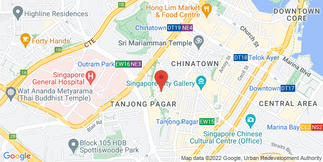 Map showing SIA Building