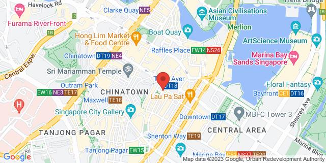 Map showing Shop Wonderland