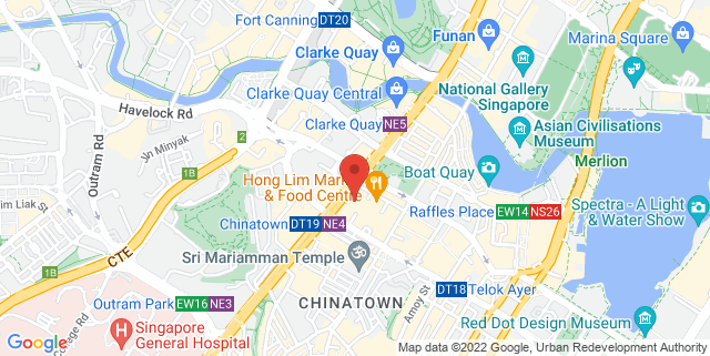 Map showing library@Chinatown