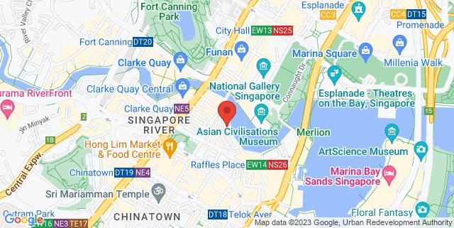 Map showing London Bar