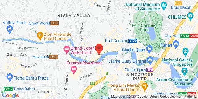 Map showing Summerlong Restaurant