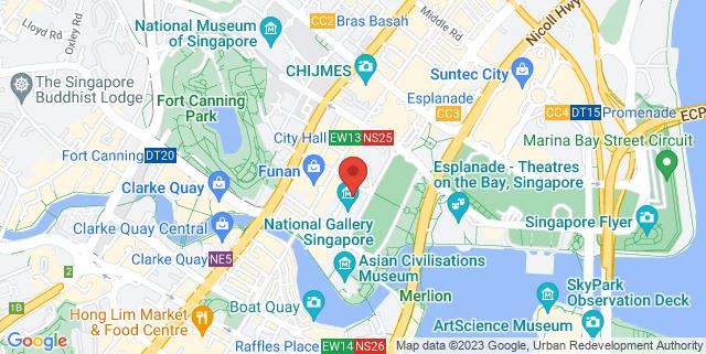 Map showing CityLink Atrium Space