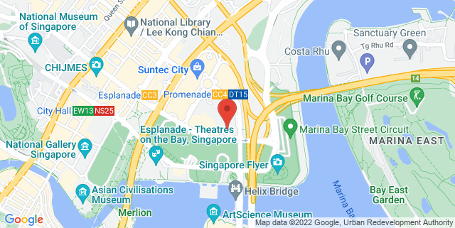 Map showing Harvey Norman Flagship Store