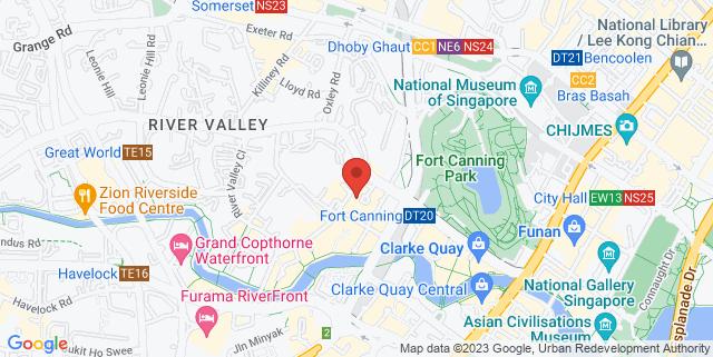 Map showing En Grill & Bar