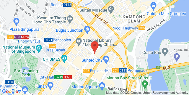 Map showing Shine Auditorium