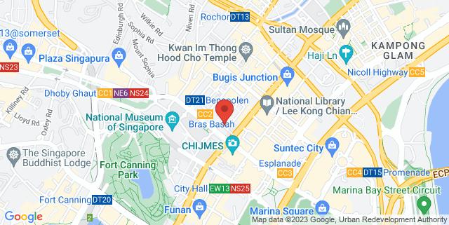 Map showing SAM @ 8Q