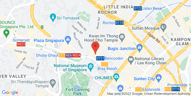 Map showing ERC Holdings Pte Ltd