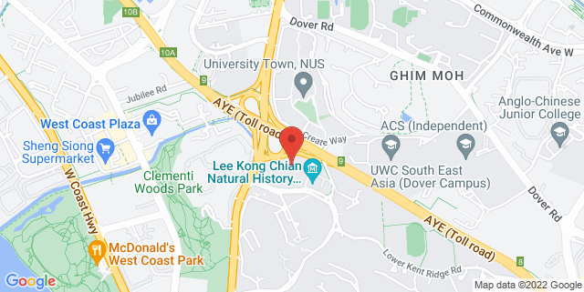 Map showing Conservatory Concert Hall