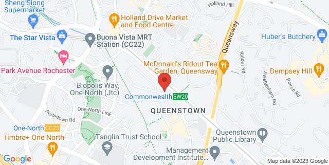 Map showing Faith Methodist Church Hall (Level 4)
