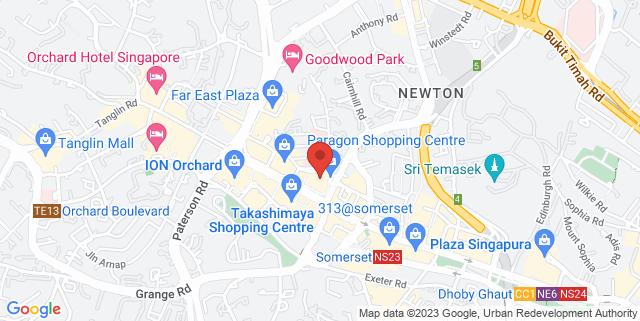 Map showing Thye Moh Chan