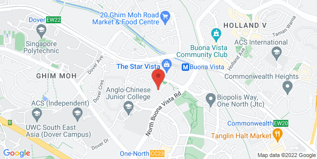 Map showing Nosh Restaurant & Bar