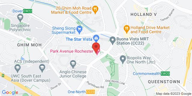 Map showing Chengzhu Mandarin Centre