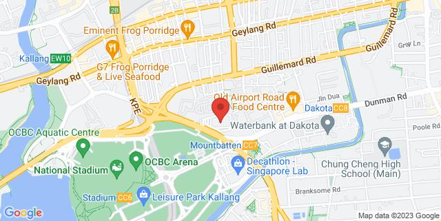 Map showing StartUpClub:hq