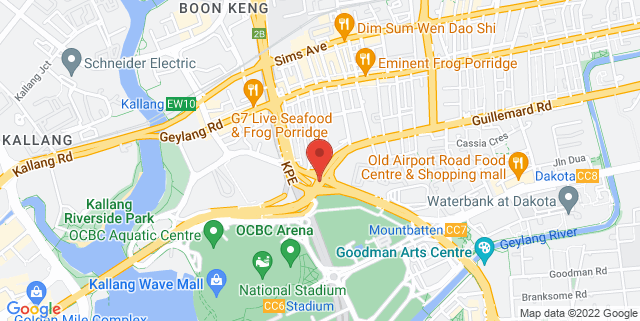 Map showing Inner City Offices (S) Pte Ltd