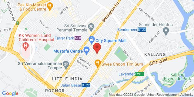 Map showing Movement & Sports Medicine Centre