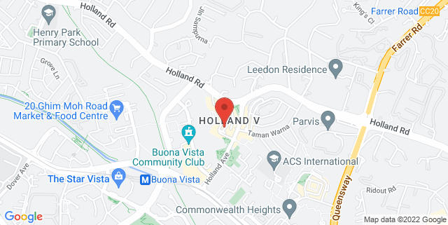 Map showing Holland Village