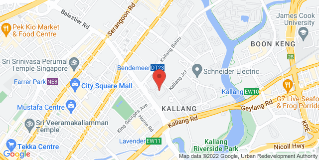 Map showing CT Hub Singapore
