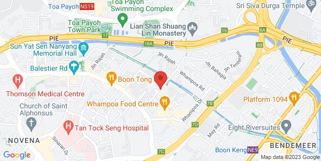 Map showing Mun Hean Building