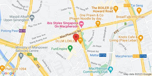 Map showing Gnani Arts Pte Ltd