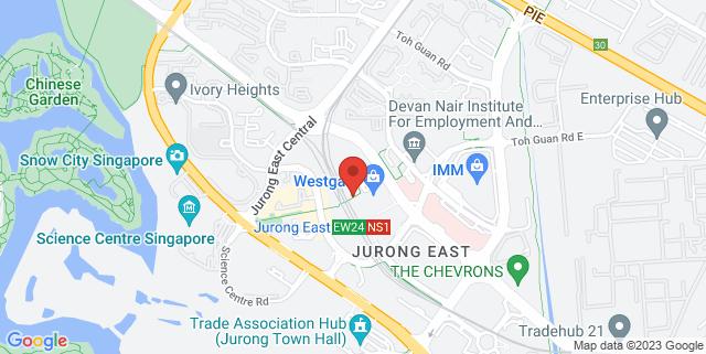 Map showing IMM Garden Plaza