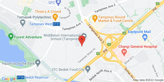 Map showing Kenny Eating House