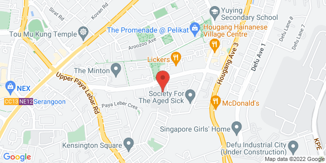 Map showing Agape Concert Hall