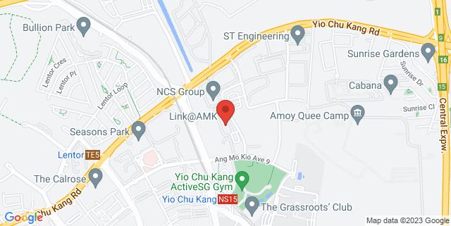 Map showing Link@AMK