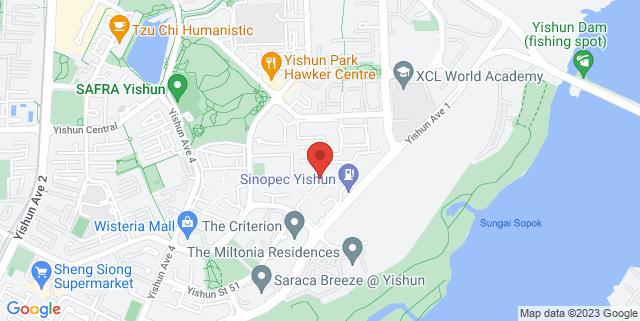 Map showing Adora Green, Block 348A