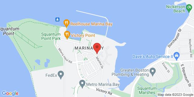 Map showing Esplanade Annexe Studio