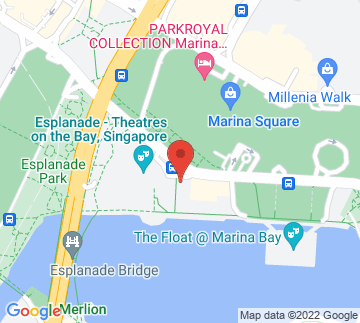 Map showing Esplanade - library@esplanade