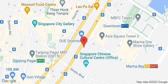Map showing UIC Building – Office Tower