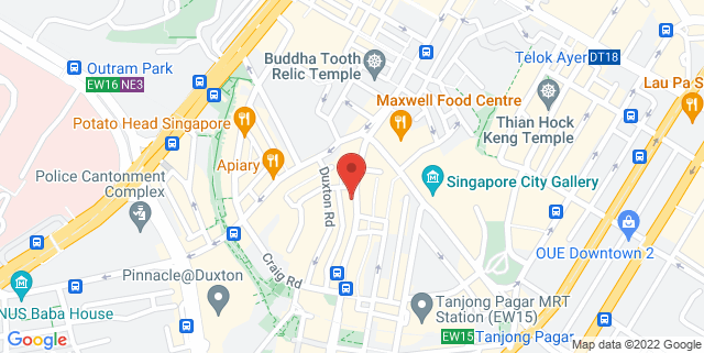 Map showing Don't Tell Mama