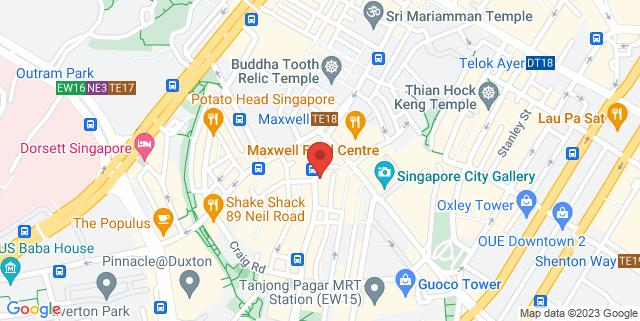 Map showing Kilo Lounge