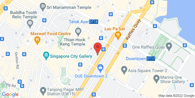 Map showing Finexis Building