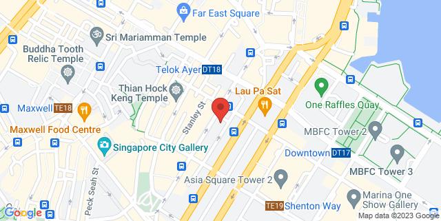 Map showing Kek Seng Tower