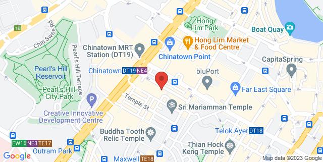 Map showing Jig-A-Jig Bar and Restaurant