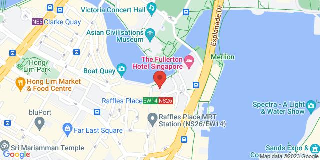 Map showing Cityindex