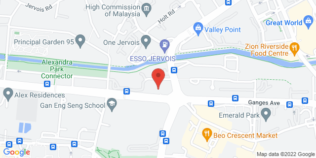 Map showing Delta House