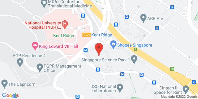 Map showing Science Park 1