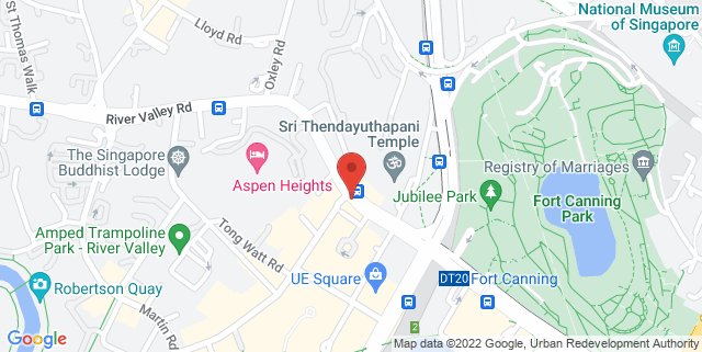 Map showing Up For Lessons